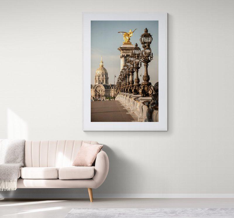 Puente de Alejandro III en París, por Adolfo Gosálvez. Venta de Fotografía de autor en edición limitada. AG Shop