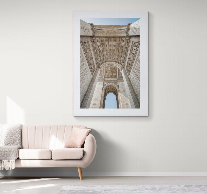 Arco del Triunfo de París, por Adolfo Gosálvez. Venta de Fotografía de autor en edición limitada. AG Shop