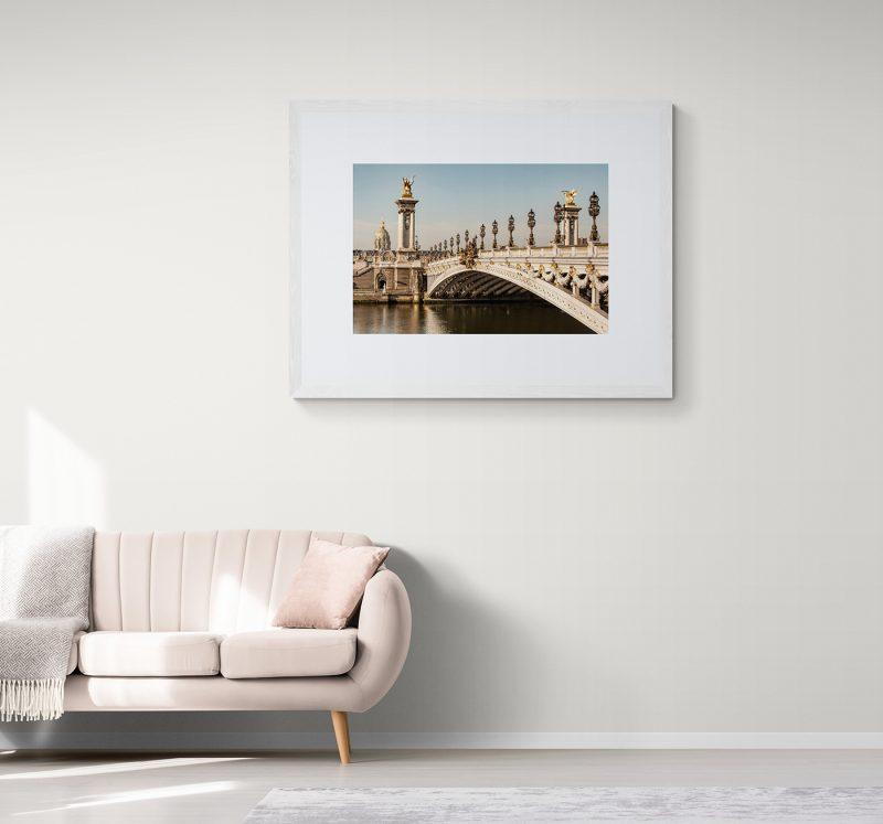 Puente de Alejando III en París, por Adolfo Gosálvez. Venta de Fotografía de autor en edición limitada. AG Shop