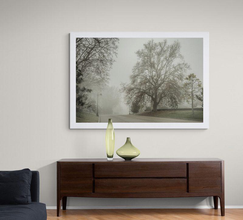 Parque del Retiro con niebla por Adolfo Gosálvez. Venta de Fotografía de autor en edición limitada. AG Shop