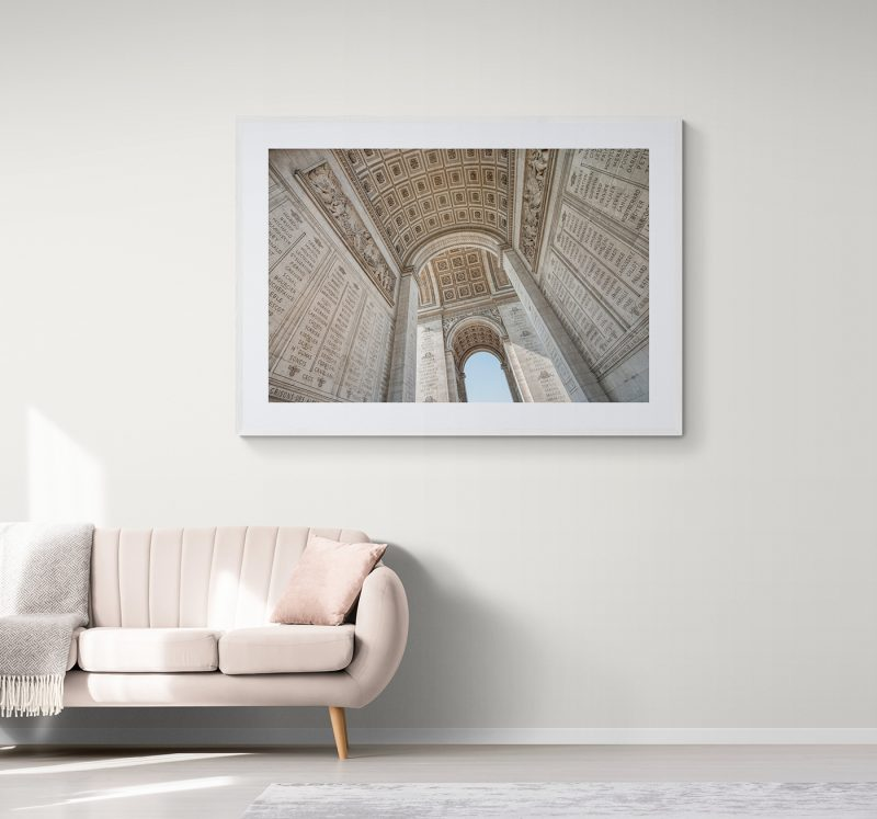 Arco del Triunfo en París, por Adolfo Gosálvez. Venta de Fotografía de autor en edición limitada. AG Shop