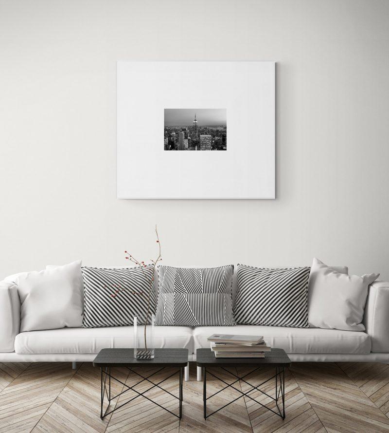 Vista de Nueva York desde el Top of the Rock, blanco y negro por Adolfo Gosálvez. Venta de Fotografía de autor en edición limitada. AG Shop