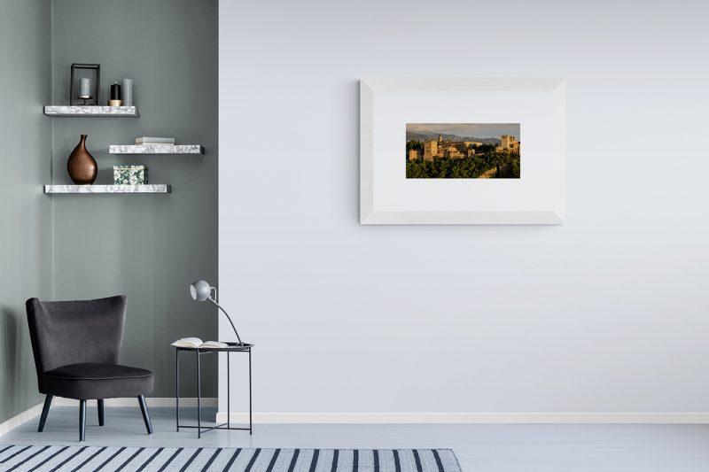 Alhambra de Granada, panorámica, Citiscapes por Adolfo Gosálvez. Venta de Fotografía de autor en edición limitada. AG Shop
