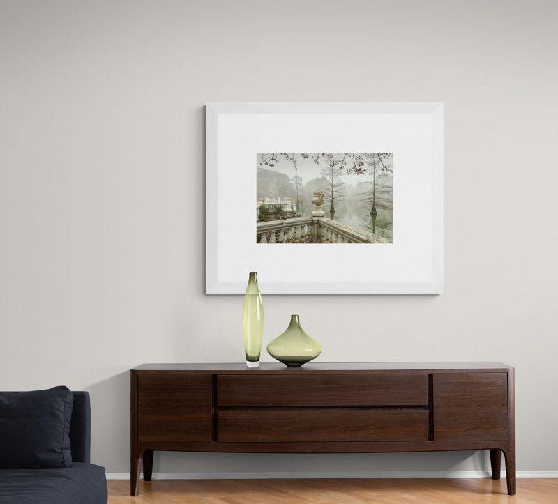 Parque del Retiro con niebla, Palacio de Cristal en Madrid por Adolfo Gosálvez. Venta de Fotografía de autor en edición limitada. AG Shop