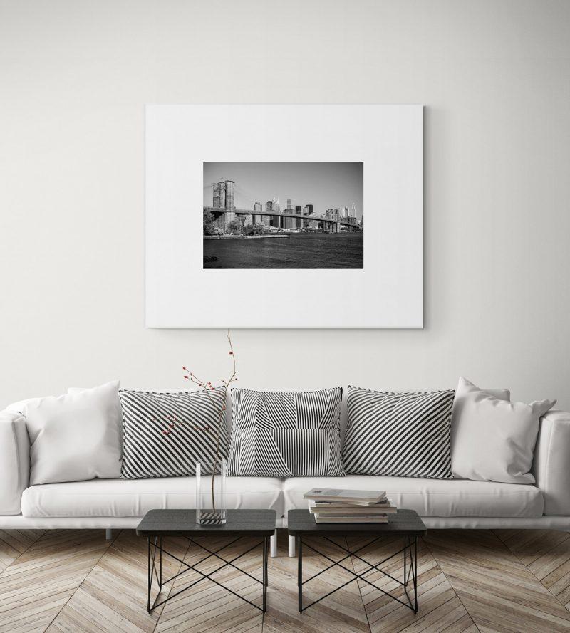 Puente de Brooklyn, Nueva York, blanco y negro por Adolfo Gosálvez. Venta de Fotografía de autor en edición limitada. AG Shop