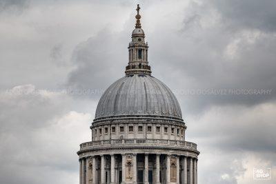 Cúpula de la Catedral de San Paul en Londres, por Adolfo Gosálvez. Venta de Fotografía de autor en edición limitada. AG Shop