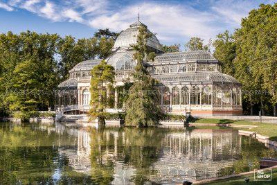 Palacio de Cristal en Madrid, por Adolfo Gosálvez. Venta de Fotografía de autor en edición limitada. AG Shop