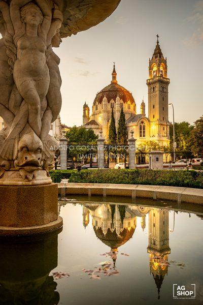 Iglesia de San Manuel y San Benito en Madrid, por Adolfo Gosálvez. Venta de Fotografía de autor en edición limitada. AG Shop
