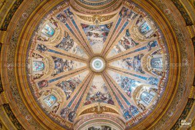 Bóveda de San Francisco el Grande, Madrid, por Adolfo Gosálvez. Venta de Fotografía de autor en edición limitada. AG Shop