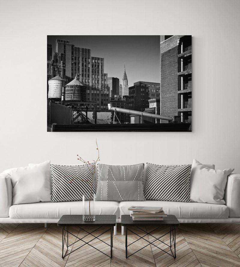 Edificios de Nueva York, blanco y negro, por Adolfo Gosálvez. Venta de Fotografía de autor en edición limitada. AG Shop