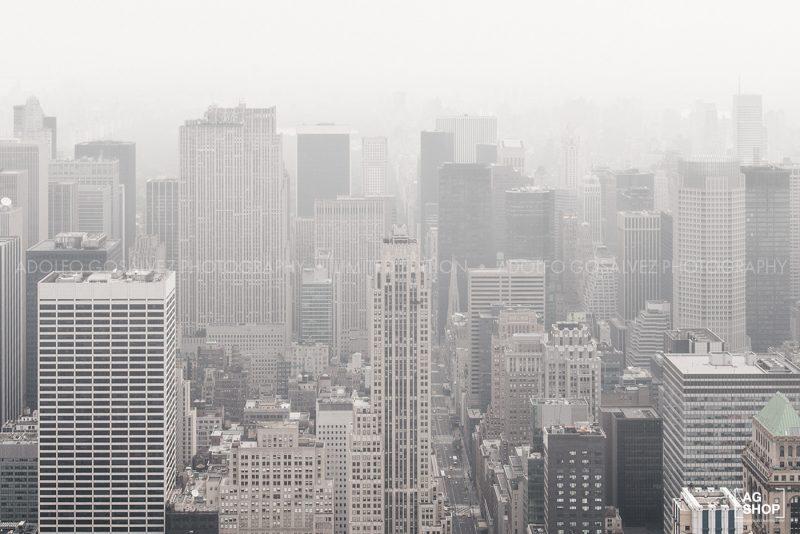 Vista aérea Nueva York por Adolfo Gosálvez. Venta de Fotografía de autor en edición limitada. AG Shop
