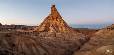 Panorámica desierto de Bardenas por Adolfo Gosálvez. Venta de Fotografía de autor en edición limitada. AG Shop