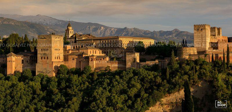 La Alhambra, Granada por Adolfo Gosálvez. Venta de Fotografía de autor en edición limitada. AG Shop