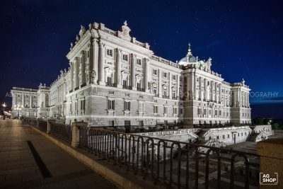 Palacio Real nocturna, Madrid, por Adolfo Gosálvez. Venta de Fotografía de autor en edición limitada. AG Shop
