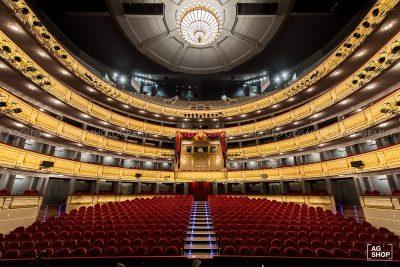 Sala de butacas del Teatro Real de Madrid por Adolfo Gosálvez. Venta de Fotografía de autor en edición limitada. AG Shop