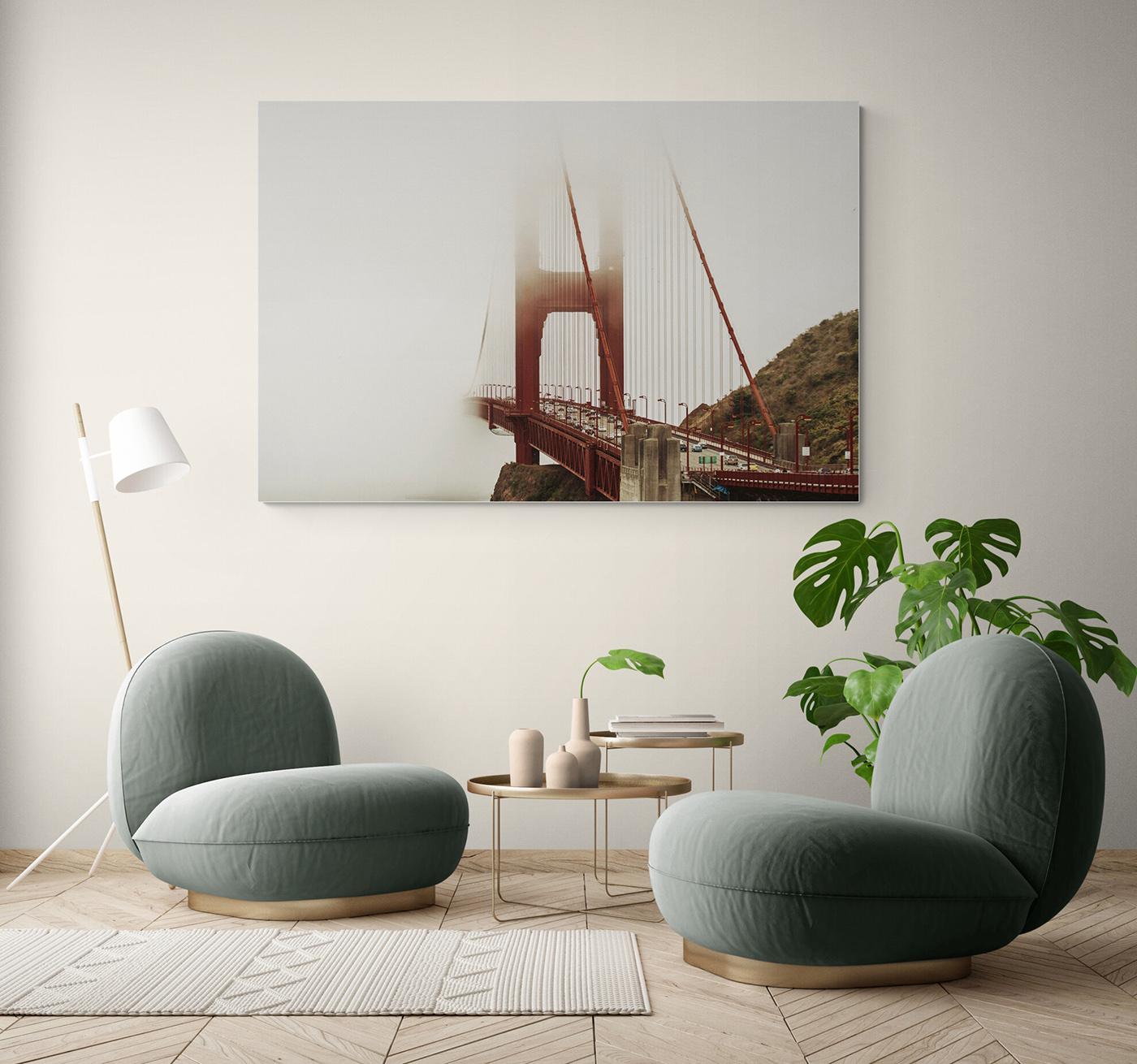 Golden Gate en San Francisco, USA, por Adolfo Gosálvez. Venta de Fotografía de autor en edición limitada. AG Shop