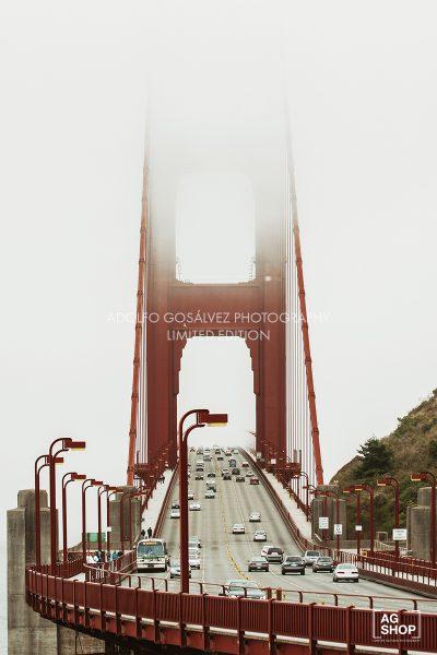 Golden Gate, San Francisco, USA, por Adolfo Gosálvez. Venta de Fotografía de autor en edición limitada. AG Shop