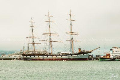 Velero en la Bahía de San Francisco, USA, por Adolfo Gosálvez. Venta de Fotografía de autor en edición limitada. AG Shop